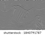 wave lines pattern abstract...   Shutterstock .eps vector #1840791787