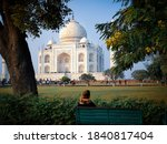 Taj Mahal is a white marble mausoleum built by Mughal Emperor, Shah Jahan in the year 1653.