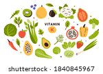 Collection Of Vitamin K Sources....