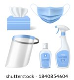 personal medical protective... | Shutterstock .eps vector #1840854604