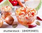Sauerkraut And Carrots In A...