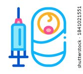 baby injection icon vector.... | Shutterstock .eps vector #1841021551