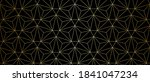pattern with golden lines and...   Shutterstock .eps vector #1841047234
