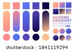 vector gradient background. set ...