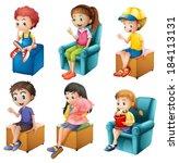 Illustration Of The Kids...