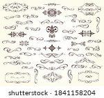 set of vintage elements... | Shutterstock .eps vector #1841158204