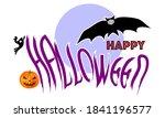sign vector illustrations happy ... | Shutterstock .eps vector #1841196577