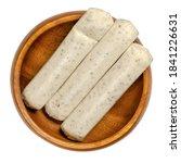 vegetarian barbecue sausages in ... | Shutterstock . vector #1841226631