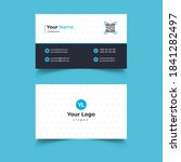 professional business card... | Shutterstock .eps vector #1841282497