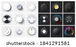 round adjustment dial.... | Shutterstock .eps vector #1841291581