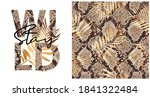 collection of print and... | Shutterstock .eps vector #1841322484