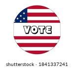 usa voting design concept  ...