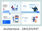 web page design templates... | Shutterstock .eps vector #1841351947