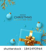 merry christmas and happy new... | Shutterstock .eps vector #1841493964