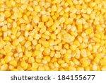 Tasty Yellow Grains Of Corn....