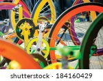 Colourful Bike's Sprocket And...