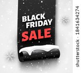 black friday sale banner with...   Shutterstock .eps vector #1841634274