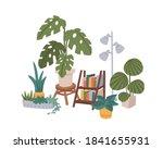 cozy home decor. different...   Shutterstock .eps vector #1841655931