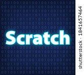 machine code languages in neon... | Shutterstock .eps vector #1841657464