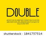 modern sans serif font ... | Shutterstock .eps vector #1841757514