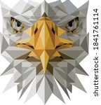 this is a vector of a eagle....   Shutterstock .eps vector #1841761114