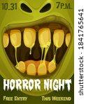 Halloween Zombie Monster Vector ...
