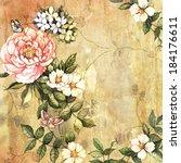 Vintage Flowers On Vintage...