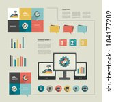infographics flat design....