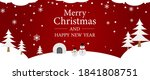 simple christmas and new year... | Shutterstock .eps vector #1841808751