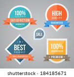 tag label collection simply.... | Shutterstock .eps vector #184185671