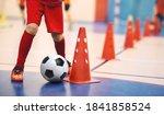 Football futsal training for...