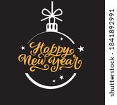 """""""happy new year"""" greeting card. ... 