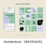 editable simple corporate posts ... | Shutterstock .eps vector #1841916241