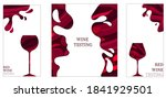 collection of templates with...   Shutterstock .eps vector #1841929501