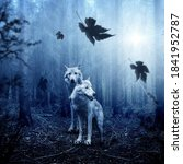 Wolfs Are Looking For His Pray.