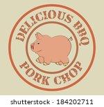 farm design over beige... | Shutterstock .eps vector #184202711