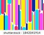 geometric abstract pop art... | Shutterstock .eps vector #1842041914
