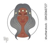 illustration of virgo... | Shutterstock .eps vector #1842060727