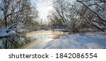 Winter Panoramic Landscape...