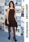 Small photo of Penelope Cruz, wearing an Azzedine Alaia dress, at Film Independent's 2009 Spirit Awards, on the beach, Santa Monica, CA 2/21/2009 Photo By Dee Cercone/Everett Collection