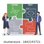 flat design with people. html   ...   Shutterstock .eps vector #1842192721