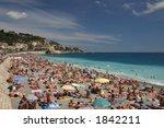 beach in nice | Shutterstock . vector #1842211
