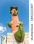 The Rostral Column Erected At...