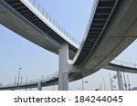 metropolitan expressway | Shutterstock . vector #184244045