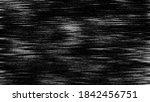 static tv noise  bad tv signal... | Shutterstock . vector #1842456751