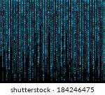 matrix  blue.   Shutterstock . vector #184246475