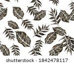 Tropical Leaf Paintings....