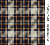 Seamless Pattern Of Scottish...