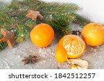 Christmas Decoration With Fir...