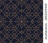 vector abstract oriental... | Shutterstock .eps vector #1842529444